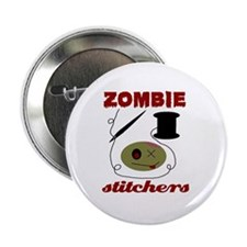 zombie stitchers Button