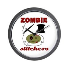 zombie stitchers Wall Clock