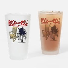 Rock and Roll Drinking Glass