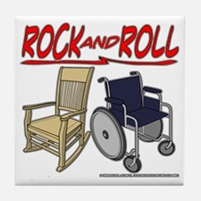 Rock and Roll Tile Coaster