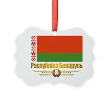 Belarus (Flag 10)2 Ornament