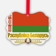 Belarus (Flag 10)2 Ornament