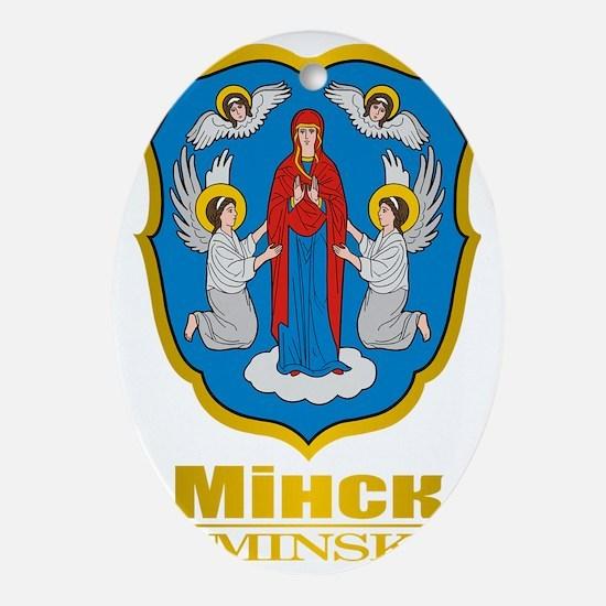 Minsk COA Oval Ornament