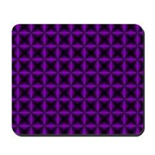 purple-black-diamonds Mousepad