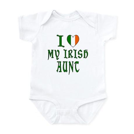I Love My Irish Aunt Infant Bodysuit