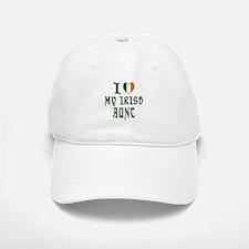 I Love My Irish Aunt Baseball Baseball Cap