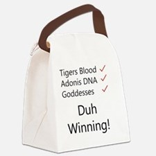 Tigers blood light Canvas Lunch Bag