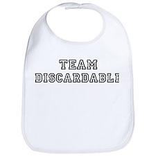 Team DISCARDABLE Bib