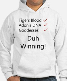 Tigers blood light Hoodie