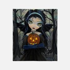 October Woods Throw Blanket