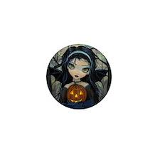October Woods Halloween Vampire Mini Button