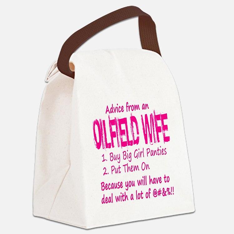 advice Canvas Lunch Bag