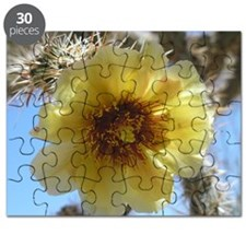 Cholla Flower Mouse Pad Puzzle