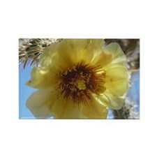 Cholla Flower Mouse Pad Rectangle Magnet