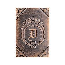 Book_D Rectangle Magnet