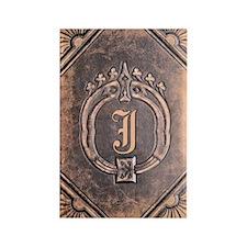 Book_J Rectangle Magnet