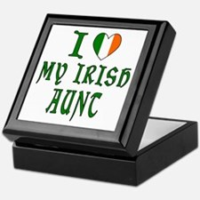 I Love My Irish Aunt Keepsake Box