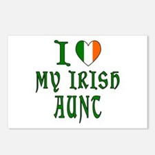 I Love My Irish Aunt Postcards (Package of 8)