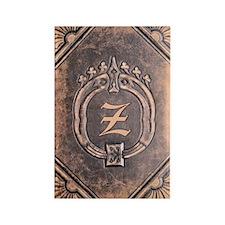 Book_Z Rectangle Magnet