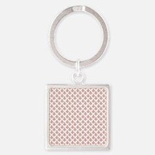 robinsampson_cu_papers_sock_monkey Square Keychain