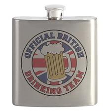 British Drinking Team Flask