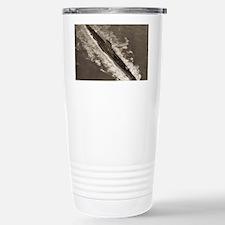 bashaw ss framed panel print Travel Mug