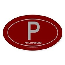 Phillipsburg Oval Decal