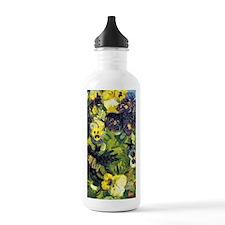 441 VG Pansies Water Bottle