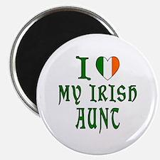 """I Love My Irish Aunt 2.25"""" Magnet (10 pack)"""