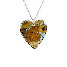 Key VG Sunflowers Necklace