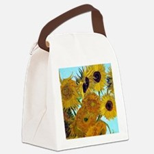 Btn VG Sunflowers Canvas Lunch Bag