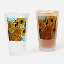 Btn VG Sunflowers Drinking Glass