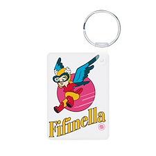 Fifinella WW2 Nose Art Keychains