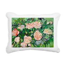 PC VG Pink Roses Rectangular Canvas Pillow