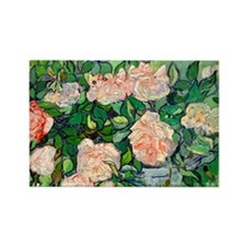 PC VG Pink Roses Rectangle Magnet