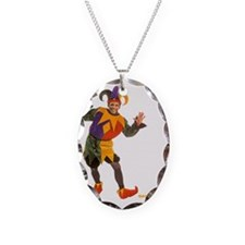 obama-court-jester-play-joke-s Necklace
