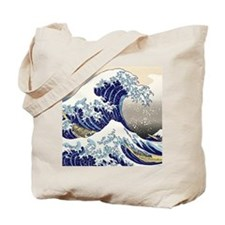 Hokusai_Great_WaveShowerCurtain2 Tote Bag