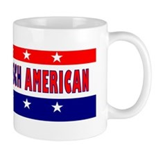 BumperStickerRebeccaKleefischAmerican Small Mug