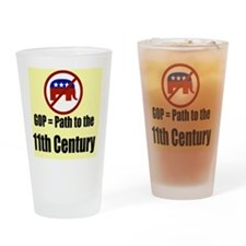 GOP Path to the 11th Century Drinking Glass