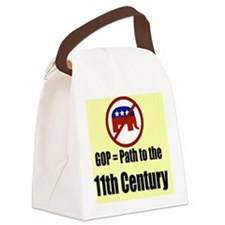 GOP Path to the 11th Century Canvas Lunch Bag