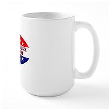 OvalStickerRebeccaKleefischAmerican Mug
