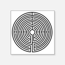 "2000x2000Labyrinth2 Square Sticker 3"" x 3"""