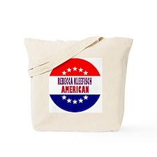 RoundButtonsMagnetsRebeccaKleefischAmeric Tote Bag