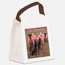 australian kelpie two Canvas Lunch Bag