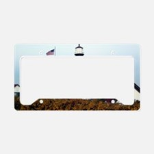 PHL in Fall Framed Print License Plate Holder