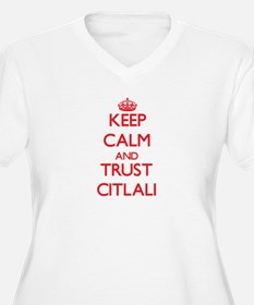 Keep Calm and TRUST Citlali Plus Size T-Shirt