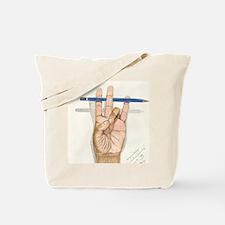 ART_ArtistsHand--GONZALEZ DELEON 001 Tote Bag