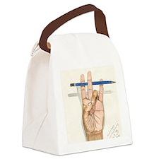 ART_ArtistsHand--GONZALEZ DELEON  Canvas Lunch Bag