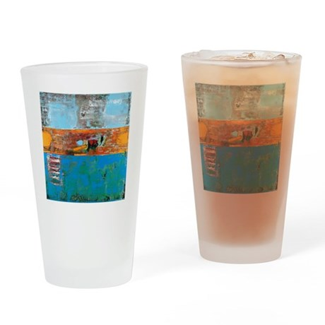 allig-blk-shirt Drinking Glass