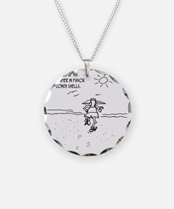 1291_running_cartoon Necklace
